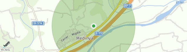 Mapa Medinya