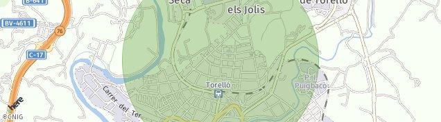 Mapa Torelló