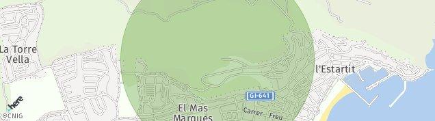 Mapa L'Estartit