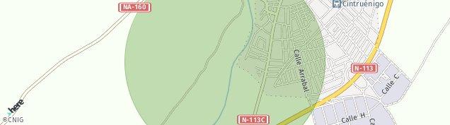 Mapa Cintruénigo