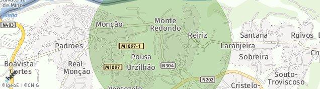 Map of Bairro da Imaculada Conceição