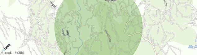 Mapa Urgal