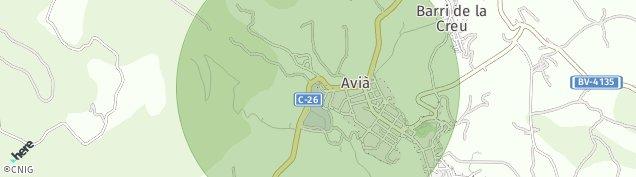 Mapa Avià