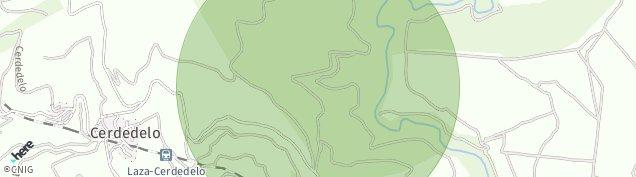 Mapa Cerdedelo