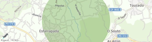 Mapa Salceda de Caselas