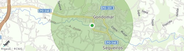 Mapa Gondomar