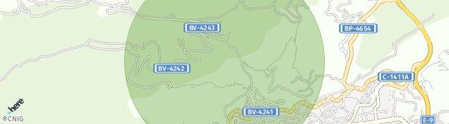 Mapa Berga