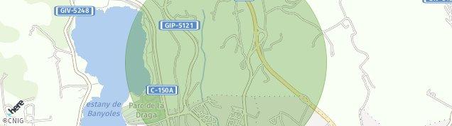 Mapa Els Pins