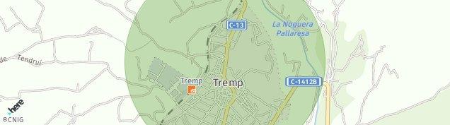 Mapa Talarn