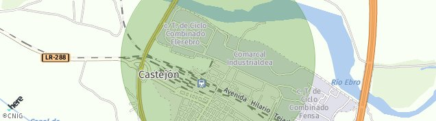 Mapa Castejón
