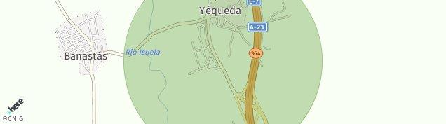 Mapa Yequeda