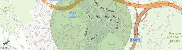 Mapa Valadares