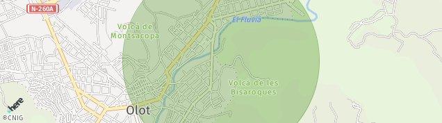 Mapa Olot