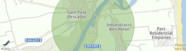 Mapa Sant Pere Pescador