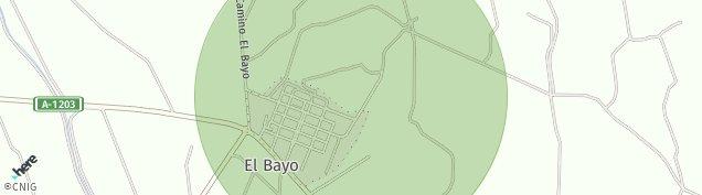 Mapa El Bayo
