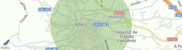 Mapa Allariz