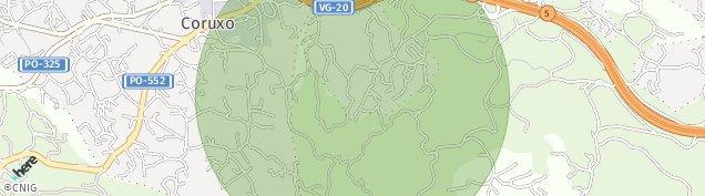 Mapa Coruxo