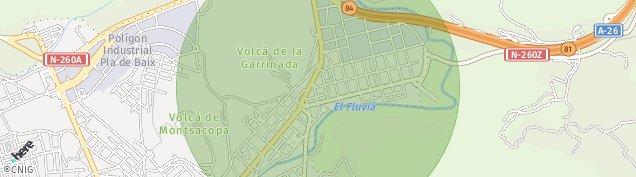 Mapa La Canya
