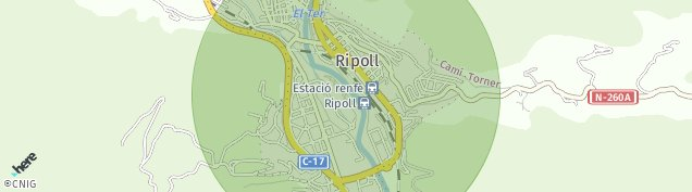 Mapa Ripoll