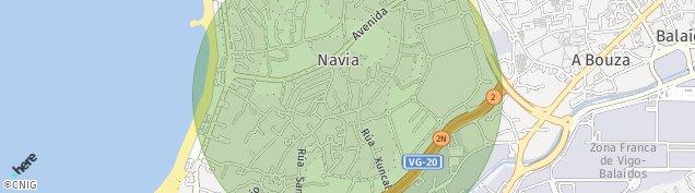 Mapa Navia