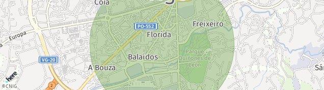 Mapa Vigo
