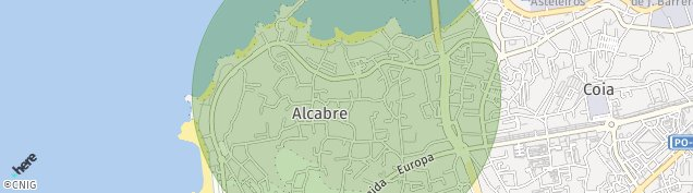 Mapa Alcabre