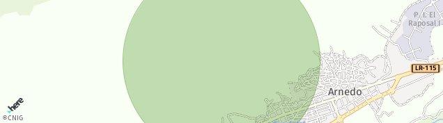 Mapa Arnedo