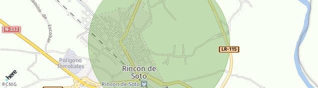 Mapa Rincón de Soto