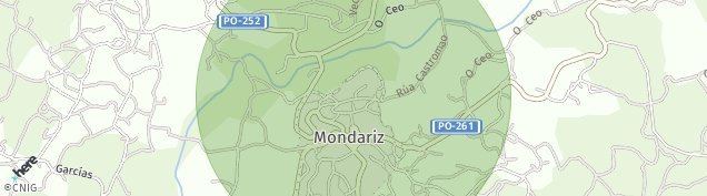 Mapa Mondariz