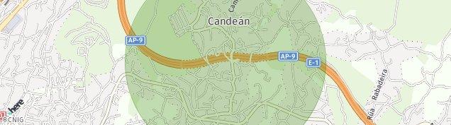 Mapa Candean