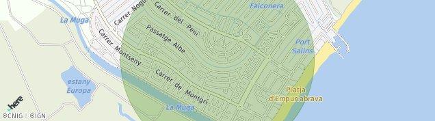 Mapa Empuriabrava