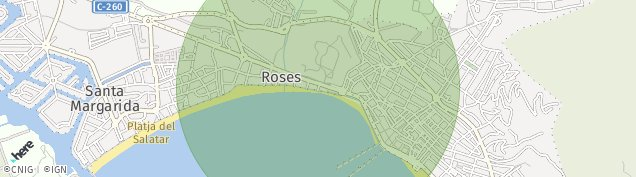 Mapa Roses