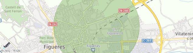 Mapa Figueres