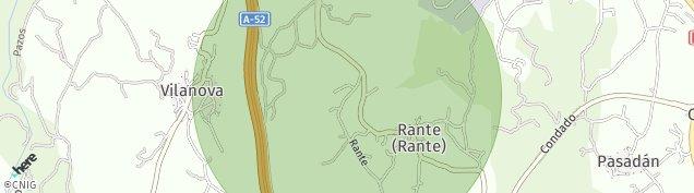 Mapa Rante