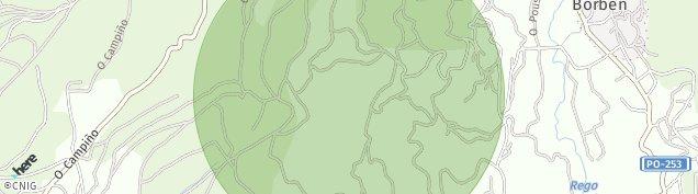 Mapa Borben