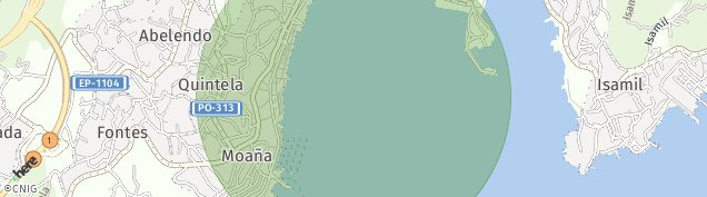 Mapa Moaña