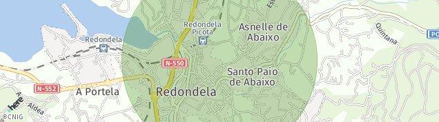 Mapa Redondela