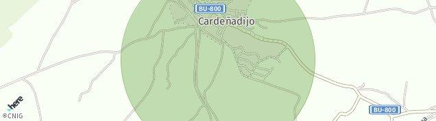 Mapa Cardeñadijo