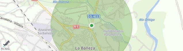 Mapa La Bañeza