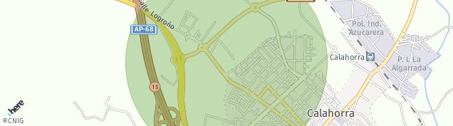 Mapa Calahorra