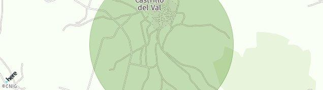 Mapa Castrillo del Val