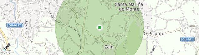 Mapa Seixalbo