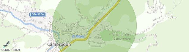 Mapa Camprodon