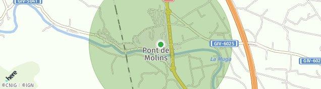 Mapa Pont de Molins