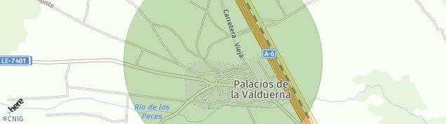 Mapa Palacios de la Valduerna