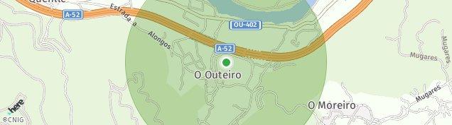 Mapa Alongos