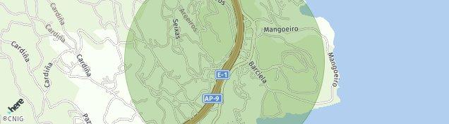 Mapa Santa Cristina de Cobres