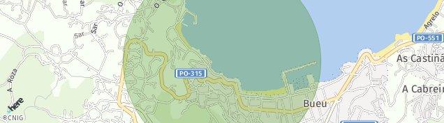 Mapa Bueu