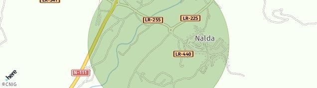 Mapa Nalda