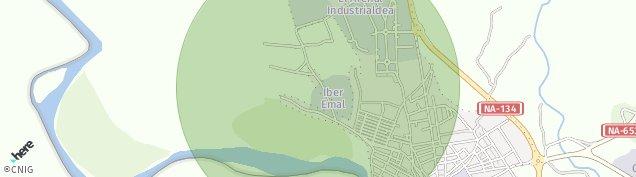 Mapa San Adrián